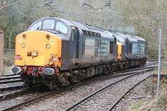 37603 & 37604 @ Kidsgrove (uksean13) Tags: 37603 37604 drs kidsgrove class 37 diesel train railway rail locomotive canon 760d ef28135mmf3556isusm ca