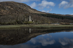 Ancient Relic - Loch Dochart April 2017 (GOR44Photographic@Gmail.com) Tags: loch dochart reflection scotland hills gor44 cloud pentax k50 1645mmf4 castle a85 stirling