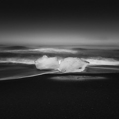 Black Sands (vulture labs) Tags: iceland photography workshop long exposure bw