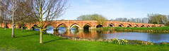 Great Barford Bridge (raven fandango) Tags: great barford bridge 2017 mothers day river water ouse bedfordshire panarama sony a6000 england english countryside landscape march nature photography photo uk