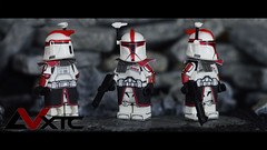"ARC-77 ""Fordo"" (AndrewVxtc) Tags: lego star wars custom clone trooper captain fordo phase 1 arc77 andrewvxtc"