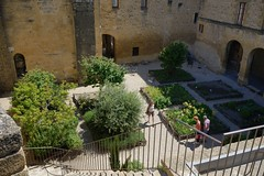0682-20160521_Salon de Provence-Bouches du Rhone-France-Chateau de l'Emperi-view of inner courtyard from Castle walls (Nick Kaye) Tags: salondeprovence bouchesdurhone france europe city castle house museum