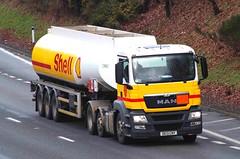 MAN - SHELL (scotrailm 63A) Tags: lorries trucks tankers