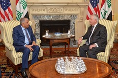 Secretary Tillerson Meets With Iraqi Minister of Oil Al-Luaibi in Washington (U.S. Department of State) Tags: rextillerson iraq jabbaralluaibi