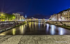 Grenoble de nuit (Rémy Berruyer) Tags: grenoble leefilters eau longexposure longueexposition nuit paysage poselongue water oloneo