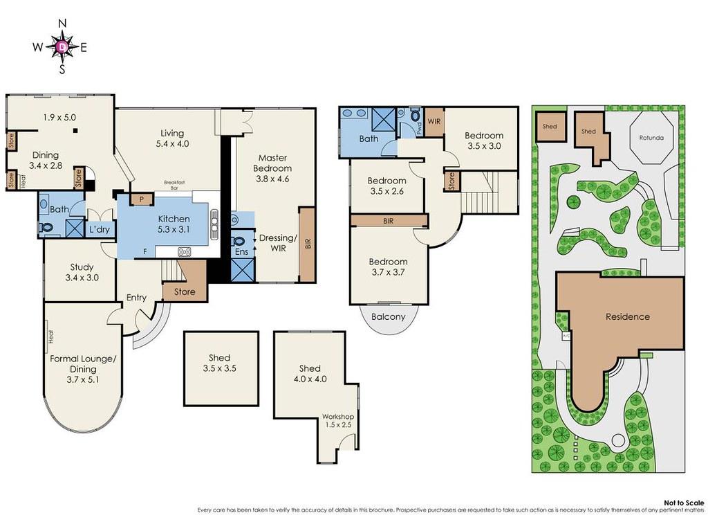103 Park Road floorplan