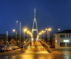foot Bridge in Tartu, Estonia (neilalderney123) Tags: ©2017neilhoward tartu estonia olympus bridge night travel