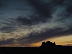 Arizona Sunset (Michael Zahra) Tags: usa america navajo arizona utah mexicanhat sky clouds sunset sunrise silhouette storm color colour 645 645z pentax ricoh reallyrightstuff lowepro lexar mediumformat landscape travel tourism nature