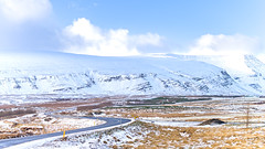 On the Road, Iceland (johnlsl) Tags: road iceland landscape snowscape