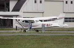 OY-BFP - Roskilde (RKE) 01.05.2010 (Jakob_DK) Tags: 2010 rke ekrk roskildelufthavn roskildeairport copenhagenroskildeairport cessna cessna172 ce172 reimscessnaf172 skyhawk reimscessnaf172m