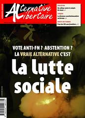 Alternative libertaire mensuel (Alternative libertaire photo) Tags: alternativelibertaire journal macron lepen élections