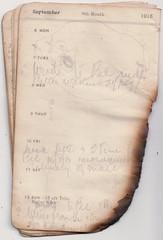 6-12 Sept 1915 (wheresshelly) Tags: ww1 wwi world war 1 australia gallipoli egypt military australian 4th field ambulance anzac morton wilfred