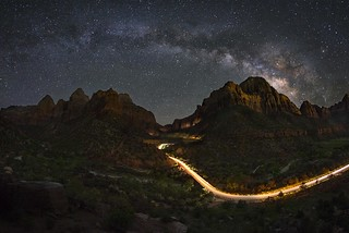 Milky Way Above Zion National Park