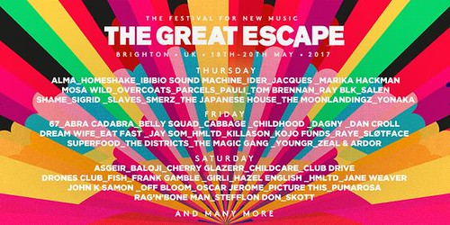 the great escape saturday 2017