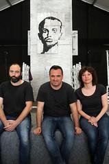 Daniel Tormo, Josep Valero i Anna Marí 25/4/2017