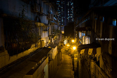 Night activities in the old Macau, SAR of China (monsieur I) Tags: buildings china density housings macao macau man monsieuri night nightlife oldmacau people travel traveler world