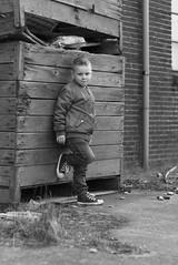 Stoere man (jeannetbijlsma) Tags: blackandwhite boy stoer poseren photo photographer pictures picture pic photos posing kid kids kind child children portret portretten