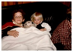 11/24/83 - Grandma's House: (mavra_chang) Tags: scanned momsphotograph family thanksgiving thanksgiving1983