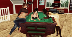 Come Play? (FinleyInfinity) Tags: secondlife photography pool billiards girls avatar virtual