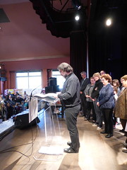 Week-end noir de Neuilly-Plaisance, 25 mars 2017 (delphinecingal) Tags: jeanhuguesoppel parrain salon weekendnoirneuillyplaisancemars2017festivalpolar polar romanpolicier festival
