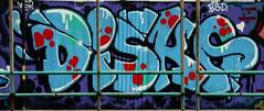 graffiti and streetart in bangkok (wojofoto) Tags: graffiti streetart bangkok thailand wojofoto wolfgangjosten disko