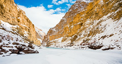 Serenity (Sid's Corner) Tags: green mountains valley ladakh leh india incredibleindia northindia chadar chadartrek river zanskar zanskarriver frozenriver ice snow snowscape snowcapped blue water freeze frozen trek landscapes landscape nature natureaddict nationalgeographic ngc flickraward nikon nikond800 schoksi schoksiphotography scenery mountain yellow bluesky