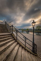 Berlin Stairs (Sascha Gebhardt Photography) Tags: nikon nikkor d800 1424mm lightroom sky fototour fx photoshop travel tour berlin hauptstadt germany deutschland roadtrip reise reisen
