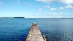 Playa Mansa, Punta Del Este, Uruguay (tatiana.monnerat) Tags: pier blue bkuesky ocean sea water beach puntadeleste uruguay