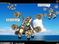 Dai Trailer 04 (messerneogeo) Tags: messerneogeo robot mech mecha daiseen iii lego aldebaran spaceship