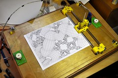 LaserWeb4 Plot1 (kongorilla) Tags: plotter laserweb blender drawbot