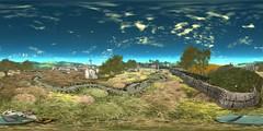 SL360@Yorkshire Tales 01 (ErikoLeo) Tags: 360° panorama landscape flickrlovers firestorm secondlife