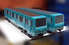3D printed NS74 (Taller Material Rodante) Tags: metro santiago 3d print impresion maqueta model alstom tallermaterialrodante taller material rodante ns74