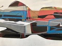 Jim Harris: Essex Class (Jim Harris: Artist.) Tags: schilderji painting cosmos space essex geometric peinture technology technik kunst zeitgenössische jim harris konst unkst maalaus taide weltraum