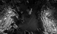 In Search of MOM !!! (zayembin.tajdid) Tags: search dhaka bangladesh bangladeshi crowd noise black white bnw father shoot street photography outdoor people photo night son daughter new market 2017