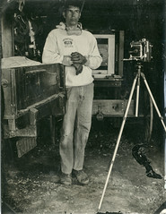 20160610_63346 (AWelsh) Tags: camp john coffer andrewwelsh rochester ny dundee outdoor workshop epson v700 scan tintype tin type aluminotype collodion wet plate wetplate selfie selfportrait self portrait autoportrait