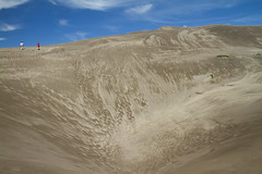 Highs and Lows in the Landscape (brucetopher) Tags: pattern texture highs lows dune great sand dunes sanddunes greatsanddunes us nationalpark usa park parks parksservice summer touring tourism travel visit hike traveling vacation holiday alamosa colorado