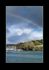 Rainbow Penryn (Dave Beckenham) Tags: rainbow penryn uk river