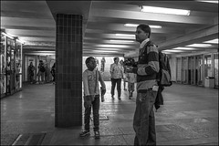 DR150802_0635D (dmitry_ryzhkov) Tags: boy boys children conversation converse corridor crosswalk family father kid kids son tunnel underground art city europe russia moscow documentary journalism street urban candid life streetlife outdoor streetscene close scene streetshot image streetphotography candidphotography streetphoto moment light shadow photography shot people population resident inhabitant person live portrait streetportrait candidportrait unposed public face eyes look stranger woman women lady man men sony alpha black blackandwhite bw monochrome white bnw blacknwhite low lowlight lowlightphotography lowlightphoto lowlightshot night