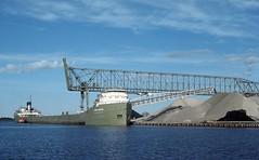 John G. Munson at Cutler Magner Dock Superior Wisconsin (rca55319) Tags: greatlakesvessel limestone ussgreatlakesfleet bradleytransportationdivision superiorwisconsin cutlermagner selfunloadervessel