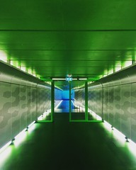 Voetgangers tunnel