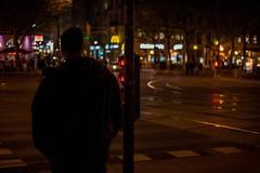 Nightwalks (Erwin Burgstaller) Tags: nacht strase wien österreich night vienna red canon 5d 50mm redlight trafficlight