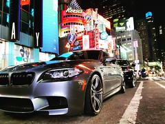 M5 BY NIGHT IN NEW-YORK 🗽 (MadMax_1995) Tags: bmw f10 newyork usa car m5 performance pic samsung s5neo porncar best picture follow favori