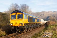 West Highland Alcan bulks (stevenjcrozier) Tags: 66737 6s45 inverhaggernie gbrf fortwilliam northblyth whl