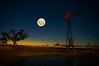 Multiple-Exposure-IMGP2640 (murraywills) Tags: sunset moon longexposure windmills multipleexposure pentax k20d