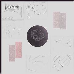 Sin título (Sonia Laroy) Tags: carbón textura collage intervención alto contraste técnicas secas linea mancha geometría orgánico abstracción cera dibujo artes visuales brillo