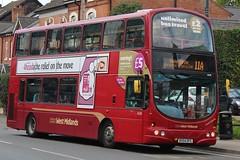 National Express West Midlands Volvo B7TL/Wright Eclipse Gemini 4636 (BX54 DFG) (Acocks Green) 'Muriel Beatrice' (john-s-91) Tags: nationalexpresswestmidlands volvob7tl wrighteclipsegemini 4636 bx54dfg kingsheath route11a 4head2017