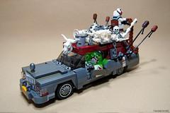 Bones (Takamichi Irie) Tags: lego mad max ghostbusters ecto 1 car creature cars fury road