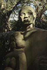 Thermal Treasure (Swebbatron) Tags: australia queensland brisbane botanicgardens statue 2008 radlab travel fuji