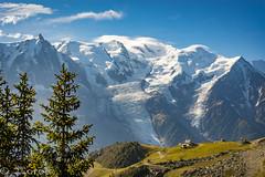 Montblanc y Aiguille du MIdi (J.Loro) Tags: france landscape alp montaña sony montblanc alpes 2014 paisaje chamonix viaje montebianco trip a7 europe mountain francia