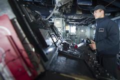 170418-N-BY095-0007 (U.S. Pacific Fleet) Tags: ussshoup ddg86 comptuex nimitzcarrierstrikegroup sailors navy ddg underway pacificocean